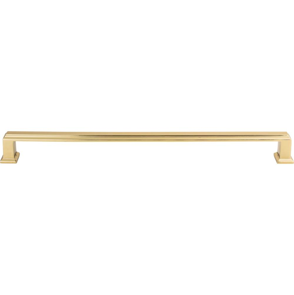 Atlas Sutton Place Pull 11 5/16 Inch (c-c) French Gold