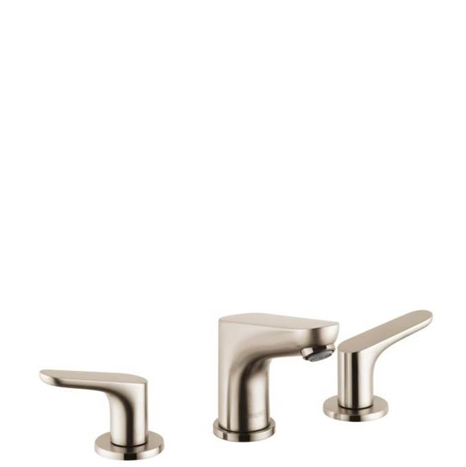 Hansgrohe Focus Widespread Faucet 100 With Pop-Up Drain, 1.2 Gpm In Brushed Nickel