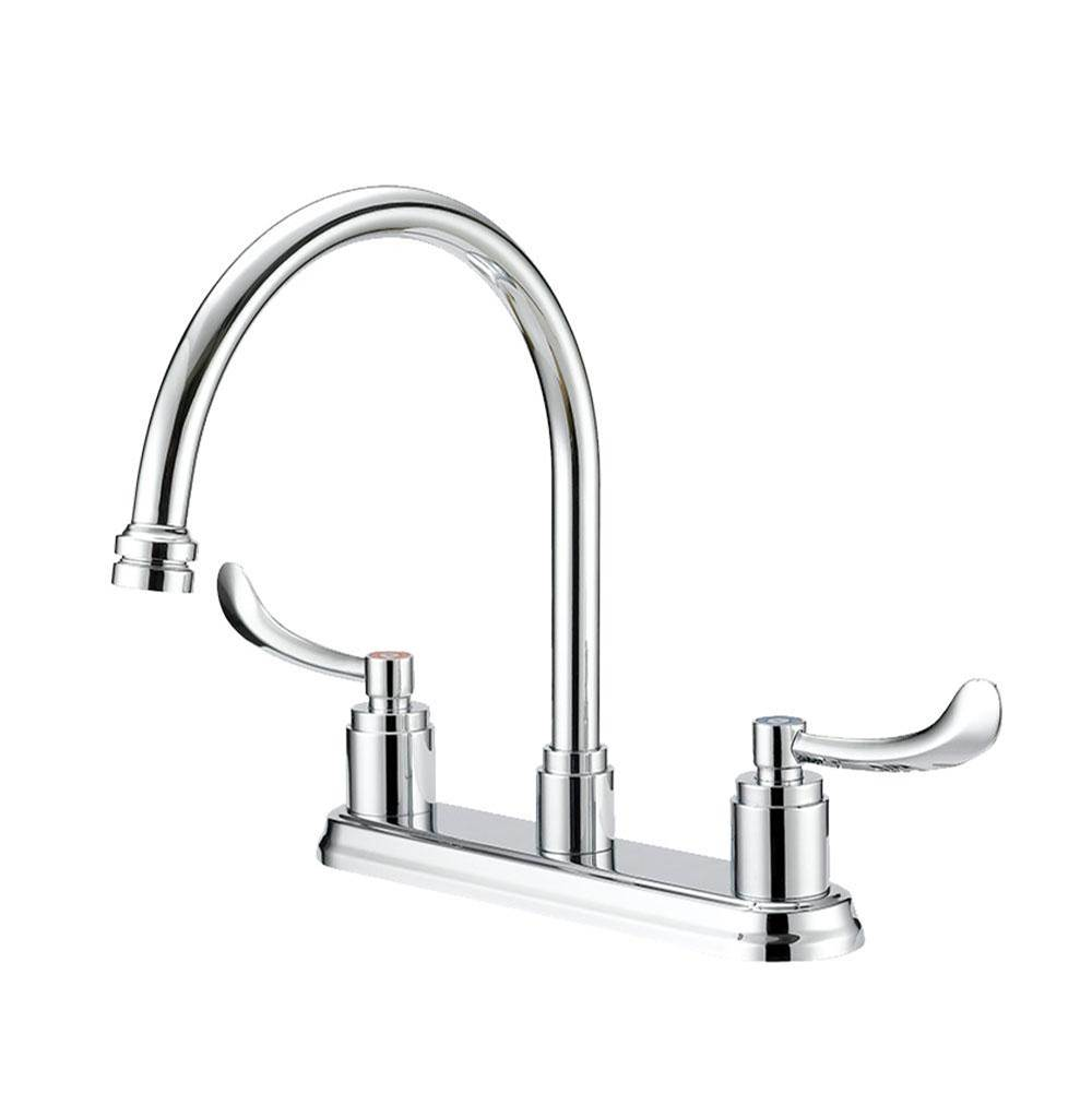 Mainline Collection Commercial Two Handle Kitchen Faucet
