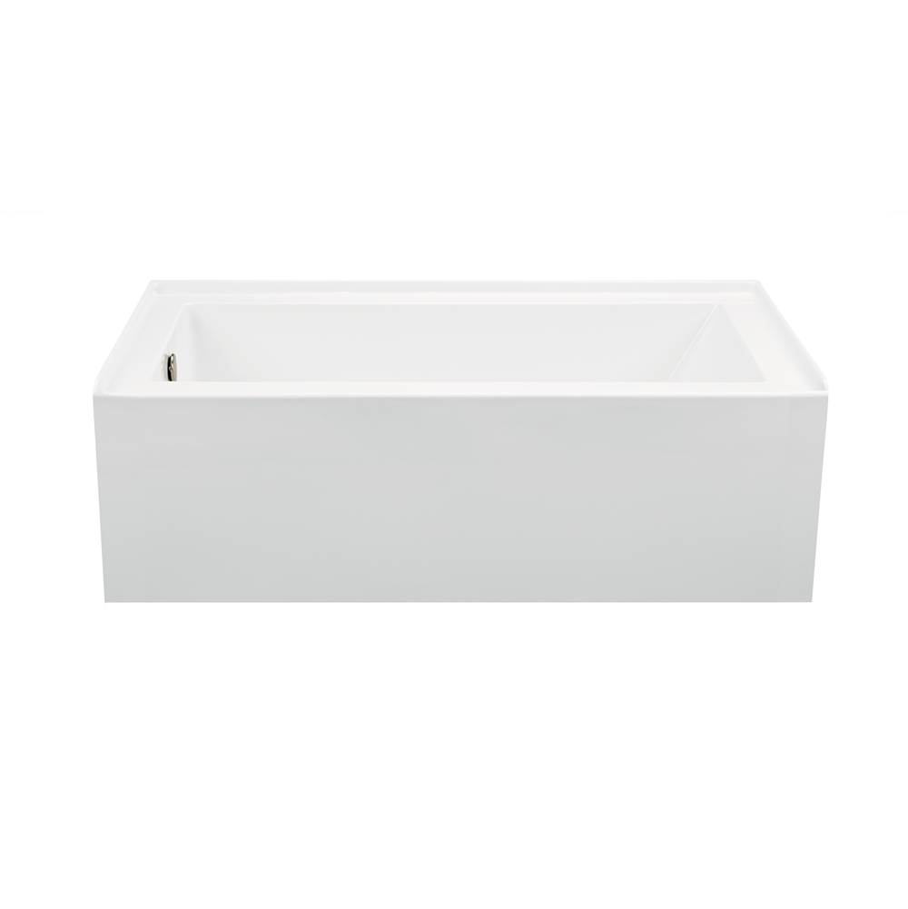 MTI Baths 60X32 White Intergral Skirted Std Whirlpool/Air Bath Combo Left Hand Drain-Cameron