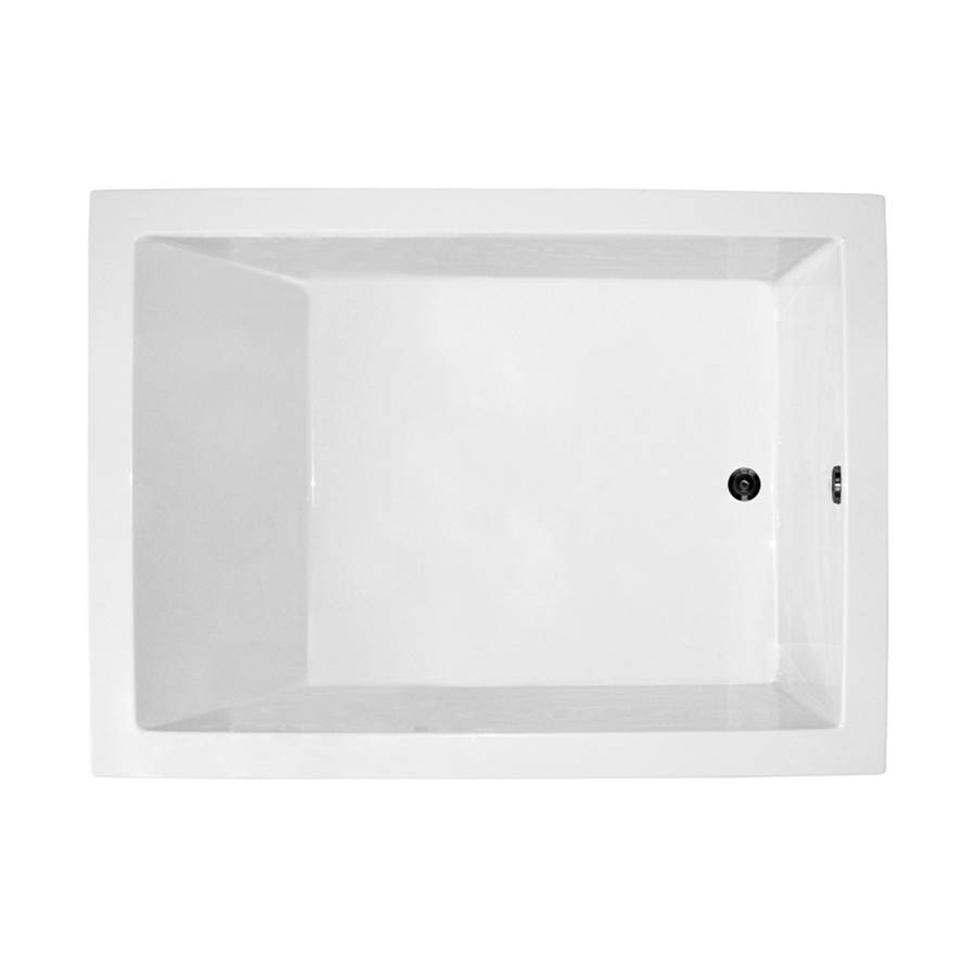 MTI Baths 54x42 WHITE AIR WHIRLPOOL UNDERMOUNT ANDREA 21