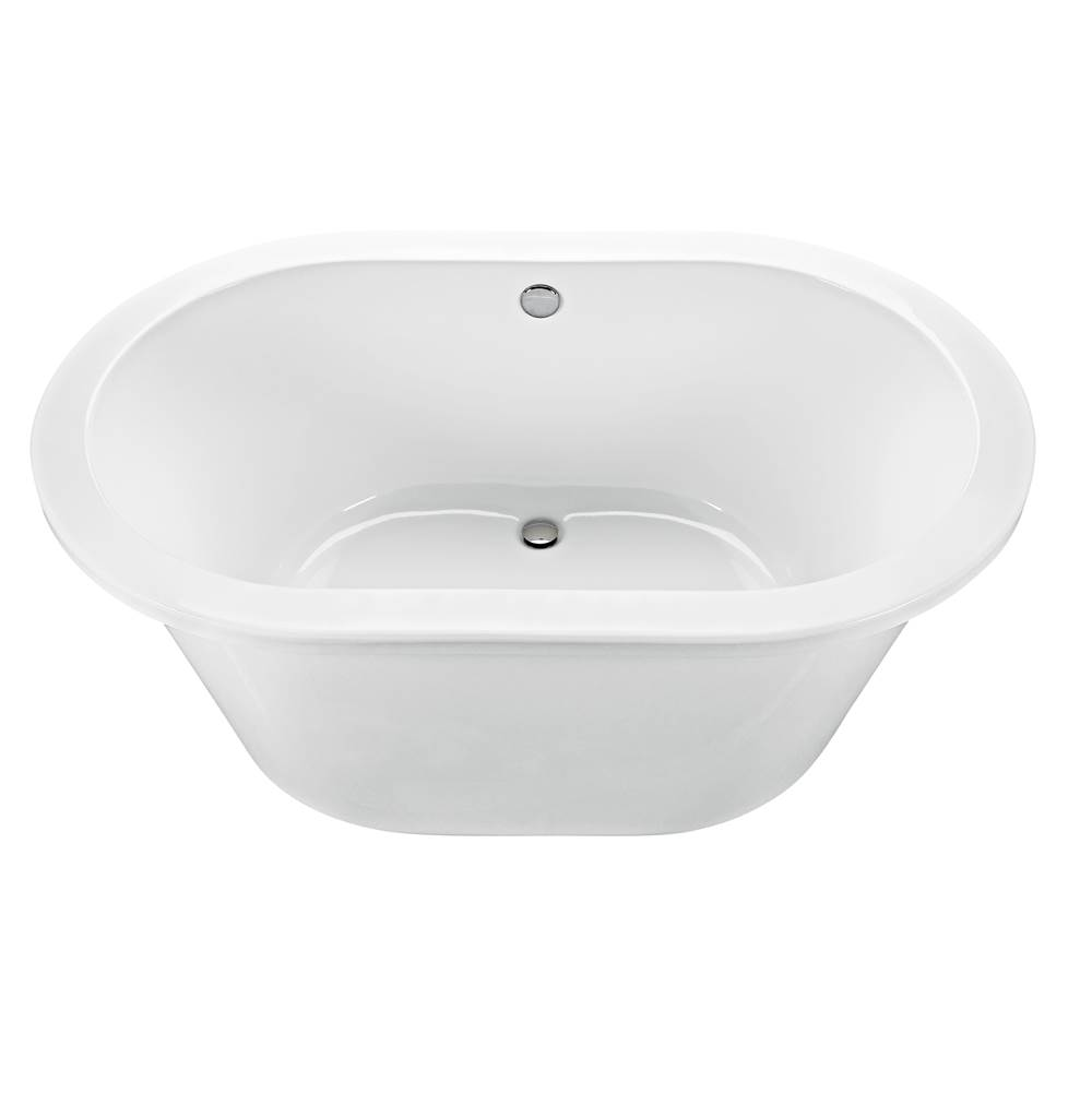 MTI Baths 66X42 WHITE FREESTANDING SOAKER new yorker 4